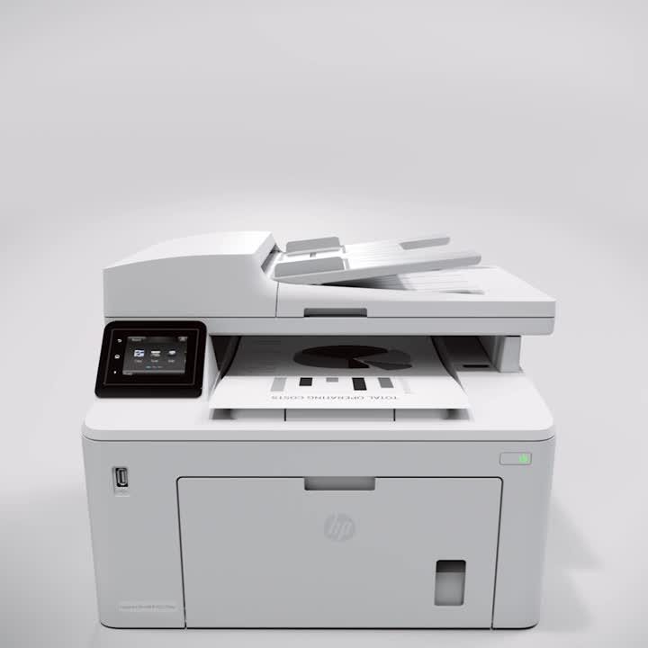 HP LaserJet Pro M227fdw Wireless Multifunction All-in-One Laser Printer,  G3Q75A Item # 838128