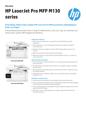 APJ Datasheet for HP LaserJet Pro MFP M130 series (English Version) (English)