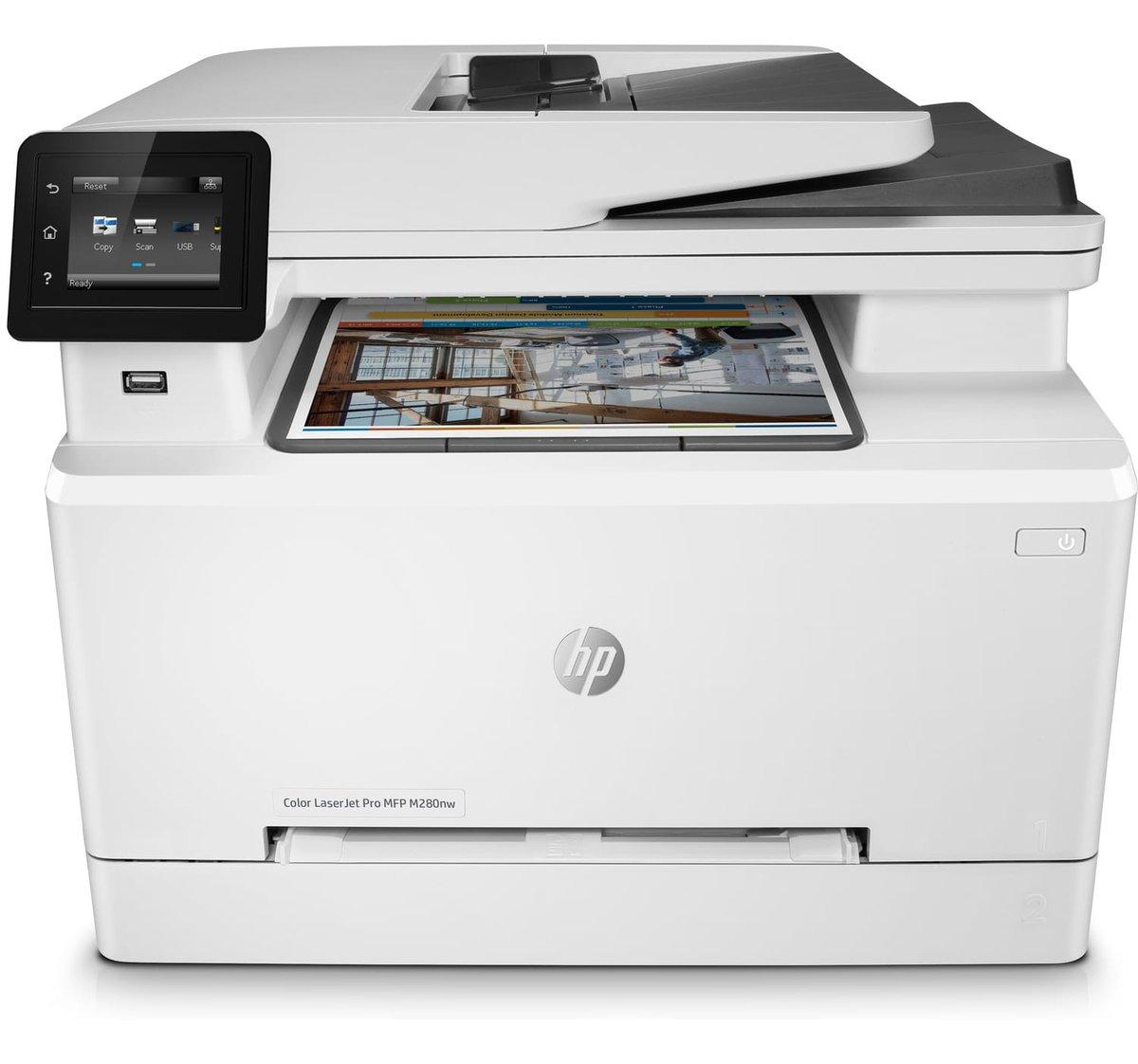 LaserJet Pro M280nw - Color Multifunction Printer - Laser - A4 - USB /  Ethernet