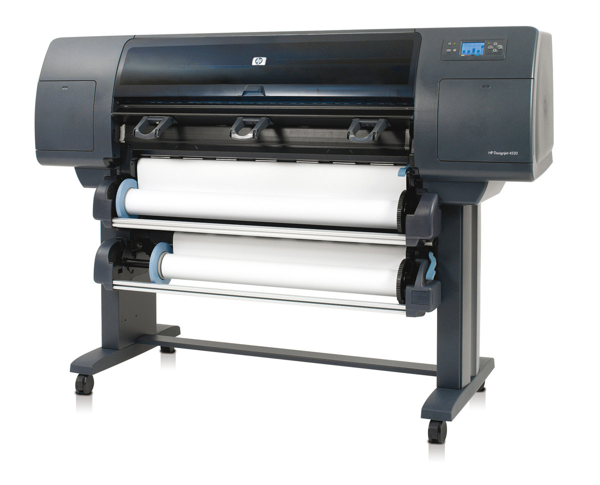 Cm768ab19 Hp Designjet 4520ps Large Format Printer Colour 81 Yellow Dye Printhead And Cleaner Original Ink Jet Currys Pc World Business