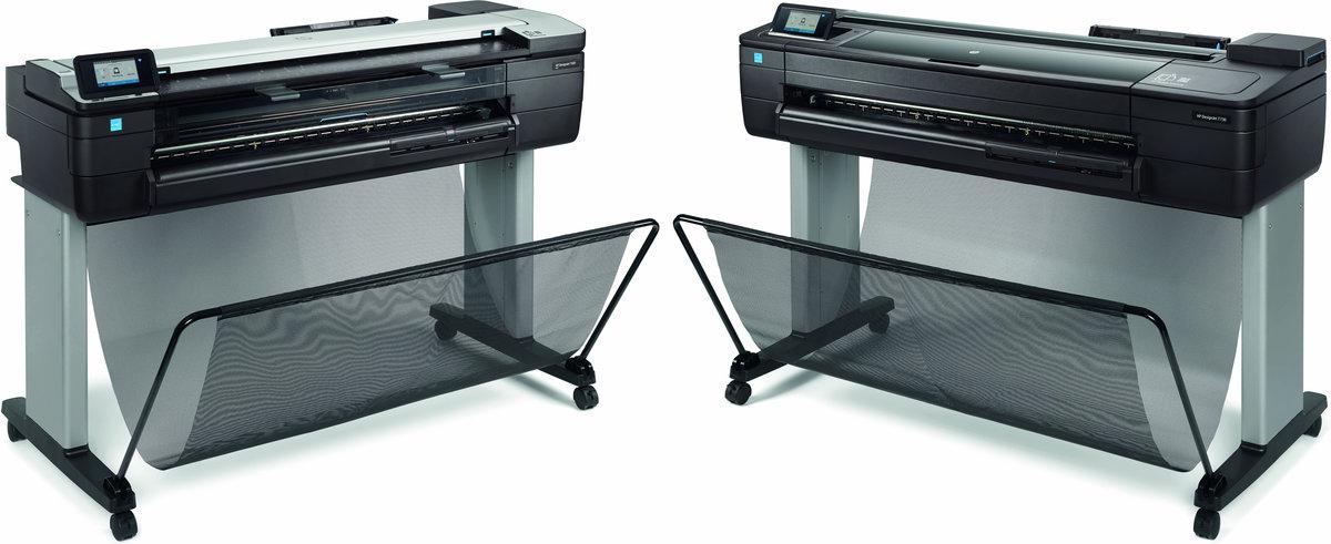 DesignJet T730 - Color Printer - Inkjet - 36in - Ethernet / Wi-Fi