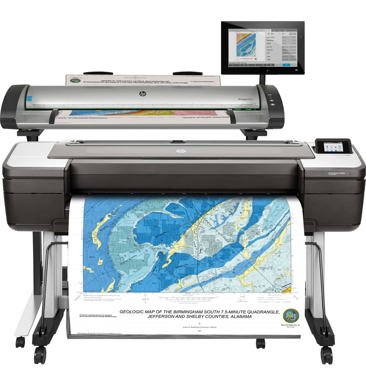 HP SD Pro MFP – T1700dr – Bay Reprographic Supply