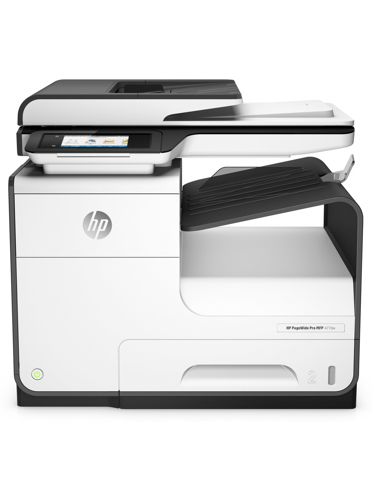 HP PageWide Pro 477dw Color Inkjet All In e Printer Copier Scanner Fax by fice Depot & ficeMax