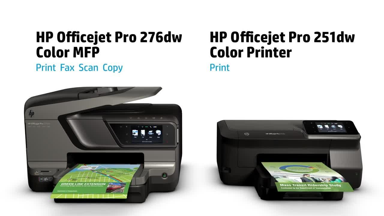 Color printing office depot - Slide 1 Of 9 Show Larger Image Hp Officejet Pro 251dw Printer