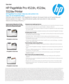 HP PageWide Pro 452dn, 452dw, 552dw Printer