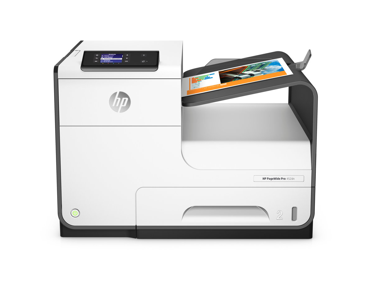 hp pagewide pro 452dn color inkjet printer by office depot u0026 officemax