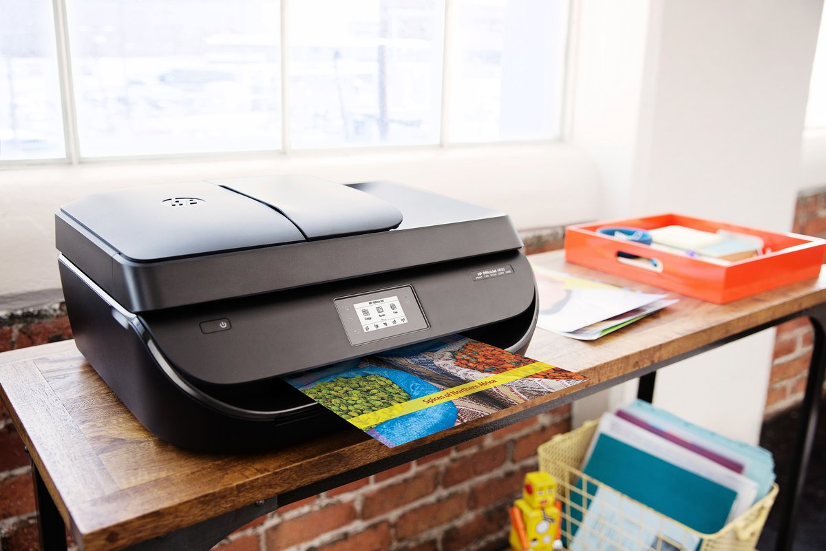 Office depot color printing costs - Hp Officejet 4650 All In One Wireless Printer With Mobile Printing F1j03a By Office Depot Officemax