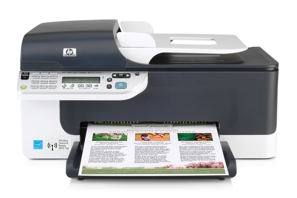 slide 1 of 6,show larger image, hp officejet j4680 all-in-