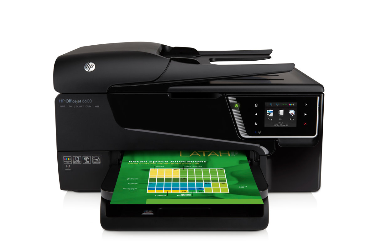 slide 1 of 6,show larger image, hp officejet 6600 e-all-