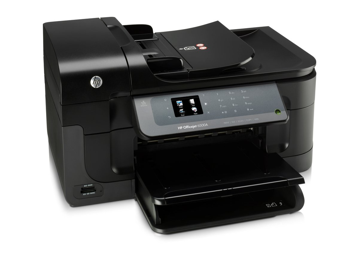 HP Officejet 6500A e All In One Printer Copier Scanner Fax by Office Depot  & OfficeMax