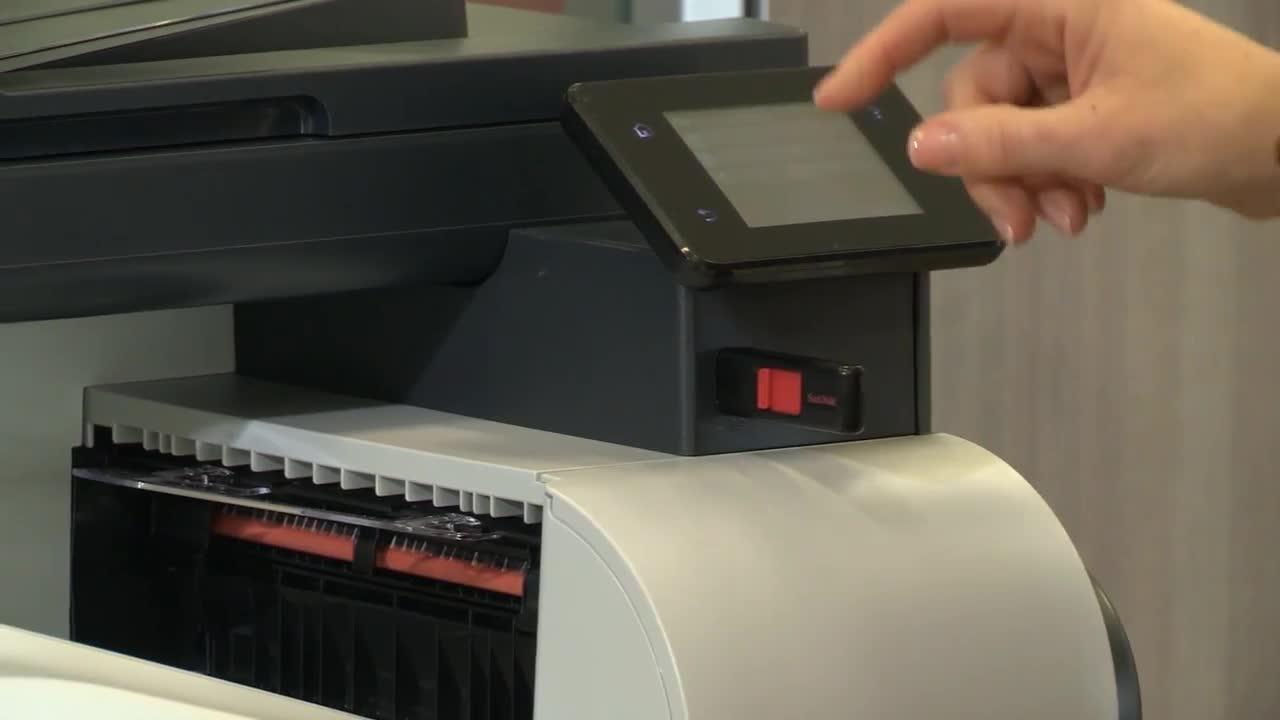 HP LaserJet Pro MFP M521dn - multifunction printer (B/W)