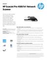 HP ScanJet Pro 4500 fnw1 Network Scanner