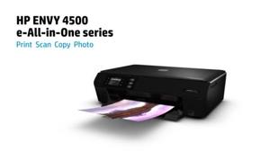HP Envy 4500 Wireless E All In One Printer Copier Scanner