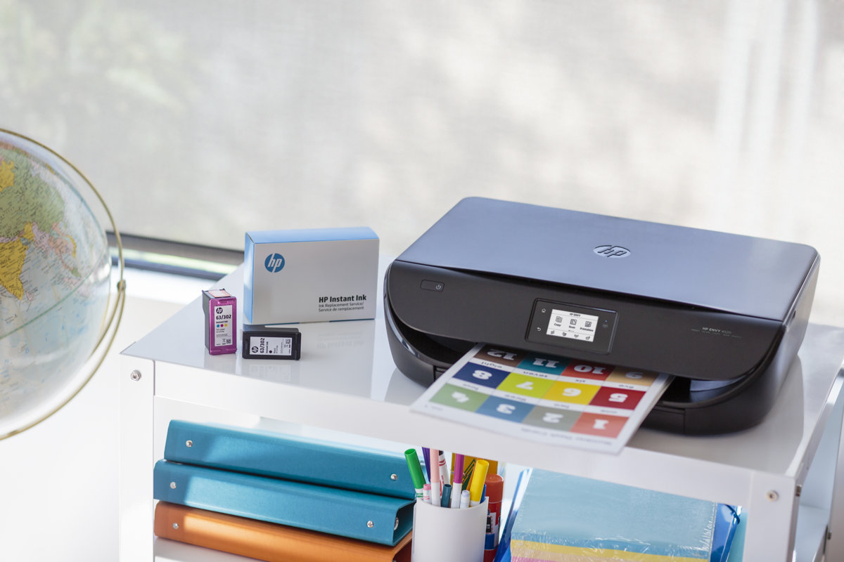 Color printing office depot - Hp Envy 4520 All In One Wireless Color Inkjet Printer Scanner Copier By Office Depot Officemax