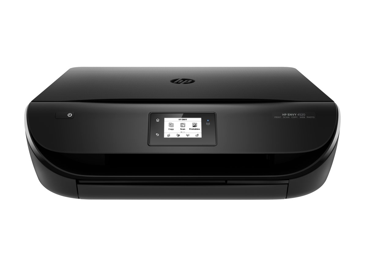 Hp Envy 4520 All In One Inkjet Photo Printer Staples Tinta Sun Refill Kit Black And Colour