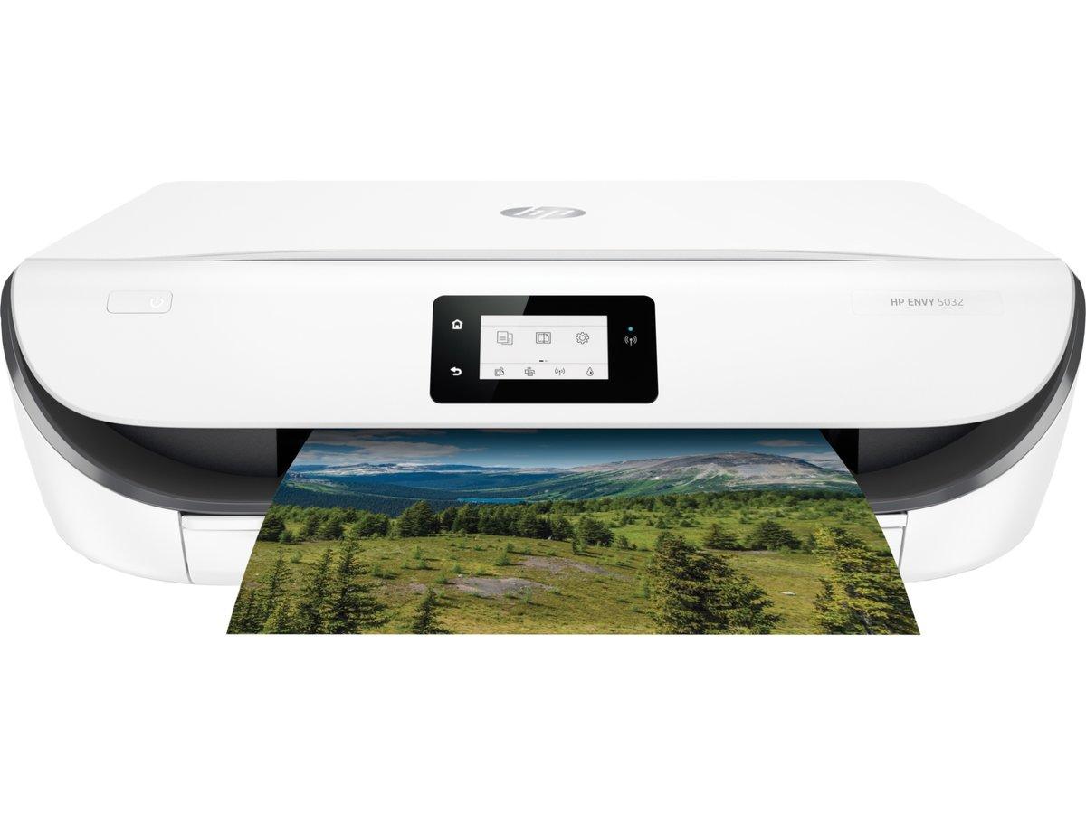 M2u94bbhc Hp Envy 5032 All In One Wireless Inkjet Printer Officejet 7110 Print Web Wifi Currys Pc World Business