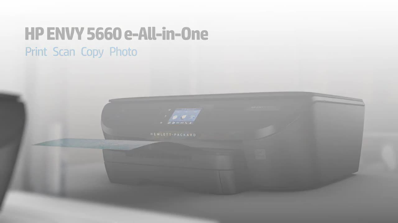 Hp Envy 5660 E All In One Multifunction Printer Color Walmartcom
