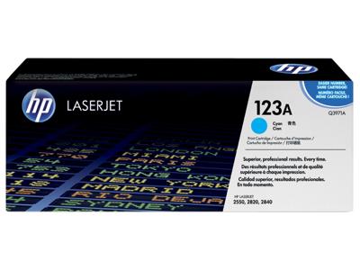 HP 123A Cyan Original LaserJet Toner Cartridge