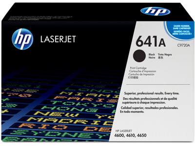 HP 641A Black Original LaserJet Toner Cartridge