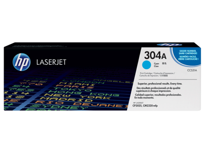 HP 304A Cyan Original LaserJet Toner Cartridge