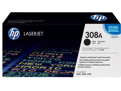 HP 308A Black Original LaserJet Toner Cartridge