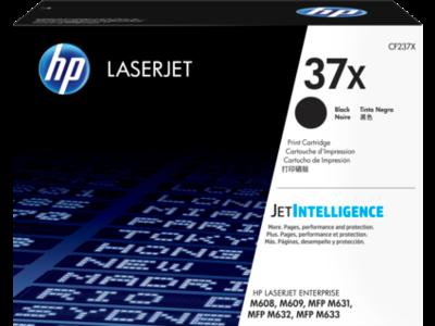HP 37X High Yield Black Original LaserJet Toner Cartridge for US Government