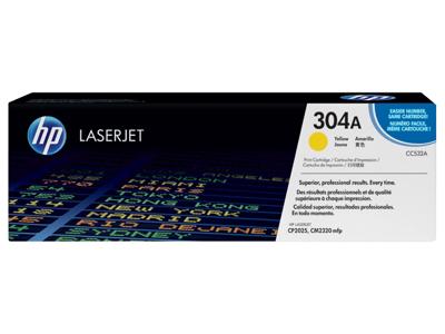 HP 304A Yellow Original LaserJet Toner Cartridge