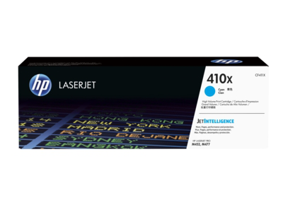HP 410X High Yield Cyan Original LaserJet Toner Cartridge