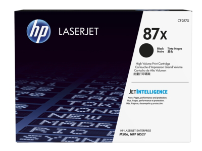 HP 87X High Yield Black Original LaserJet Toner Cartridge