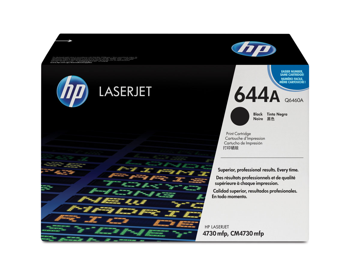 Hp 644a Black Original Toner Cartridge Q6460a By Office Depot Tinta Epson 644 Officemax