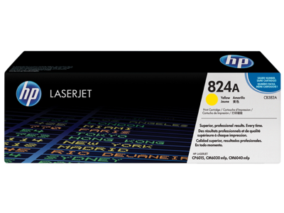 HP 824A Yellow Original LaserJet Toner Cartridge