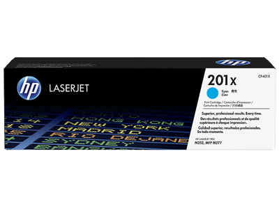 HP 201X High Yield Cyan Original LaserJet Toner Cartridge