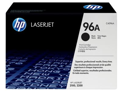 HP 96A Black Original LaserJet Toner Cartridge