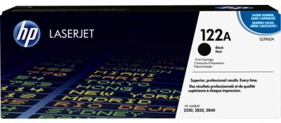 HP 122A Black Original LaserJet Toner Cartridge