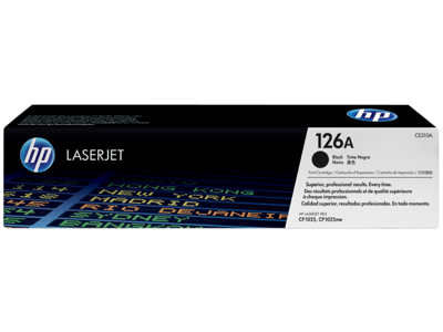 HP 126A Black Original LaserJet Toner Cartridge