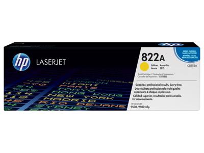 HP 822A Yellow Original LaserJet Toner Cartridge