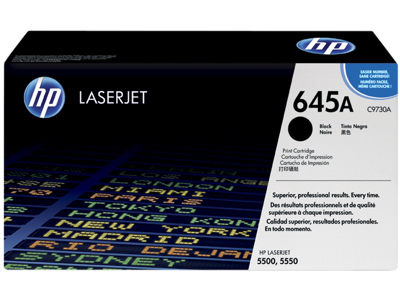 HP 645A Black Original LaserJet Toner Cartridge