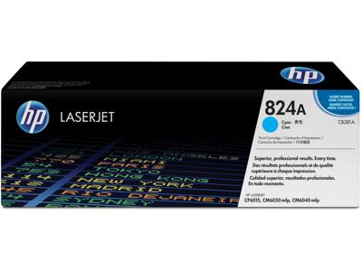 HP 824A Cyan Original LaserJet Toner Cartridge