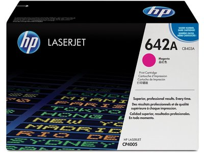 HP 642A Magenta Original LaserJet Toner Cartridge