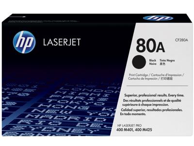 HP 80A Black Original LaserJet Toner Cartridge