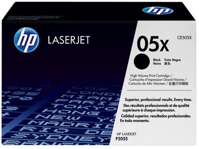 HP 05X High Yield Black Original LaserJet Toner Cartridge