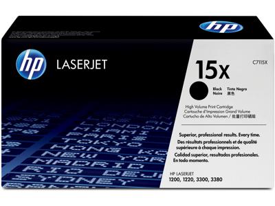HP 15X High Yield Black Original LaserJet Toner Cartridge