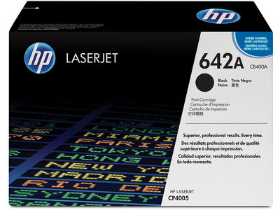 HP 642A Black Original LaserJet Toner Cartridge