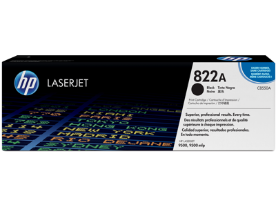 HP 822A Black Original LaserJet Toner Cartridge