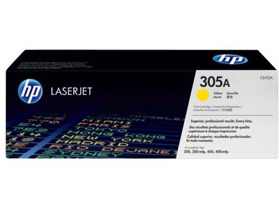 HP 305A Yellow Original LaserJet Toner Cartridge