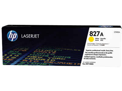 HP 827A Yellow Original LaserJet Toner Cartridge