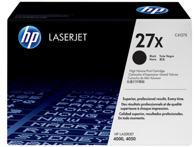 HP 27X High Yield Black Original LaserJet Toner Cartridge