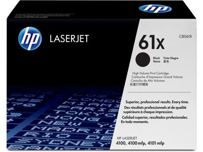 HP 61X High Yield Black Original LaserJet Toner Cartridge