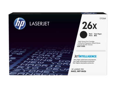 HP 26X High Yield Black Original LaserJet Toner Cartridge