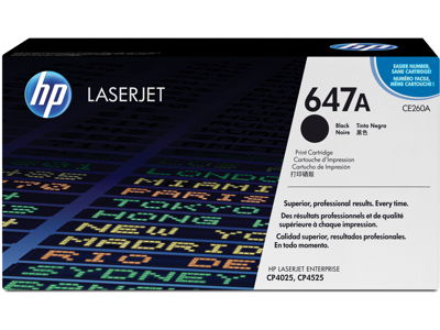 HP 647A Black Original LaserJet Toner Cartridge